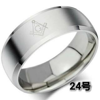 ♣400円アクセ❗秘密結社 フリーメイソン リング⭐️(リング(指輪))
