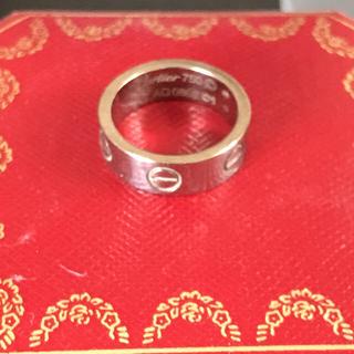 カルティエ(Cartier)のカルティエ k18リング(リング(指輪))