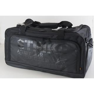 アルファインダストリーズ(ALPHA INDUSTRIES)の新品送料込 ALPHA IGOR ボストンバッグ 54L 黒 大容量旅行鞄(ボストンバッグ)