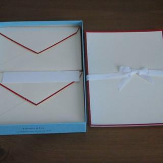 ティファニー(Tiffany & Co.)のティファニー★レターセット(15セット)&封筒10枚(3種類サイズ)(その他)