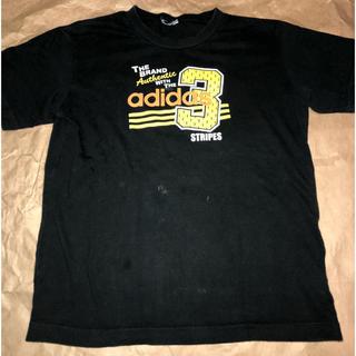 アディダス(adidas)のアディダス 黒 Tシャツ(Tシャツ/カットソー)