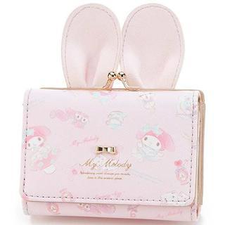 KATHARINE ROSS☆新品♪うさ耳&リボン*アリス×マイメロ柄がま口財布