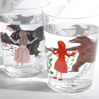 ディーブロス(D-BROS)の【未使用】ディーブロス 童話を飲む方法 グラス 白雪姫(グラス/カップ)