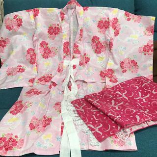 シマムラ(しまむら)の浴衣 サイズ110 女の子(甚平/浴衣)