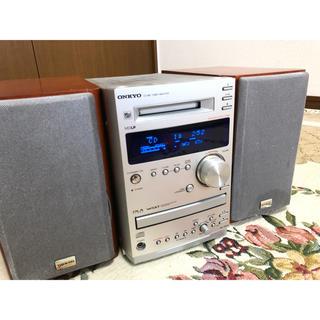 オンキヨー(ONKYO)のONKYOシステムコンポFR-155AX MD/CD/AM/FMラジオ(スピーカー)