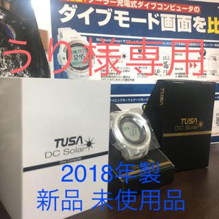 ツサ(TUSA)のダイブコンピューター TUSA DC Solar ホワイト IQ1203(マリン/スイミング)