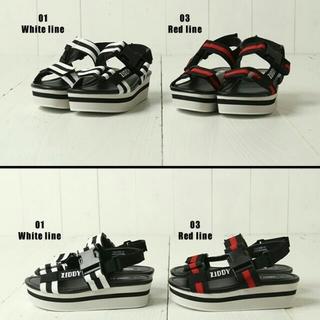 ジディー(ZIDDY)の値下げ ZIDDY 22 21 スポーツ サンダル 靴 (サンダル)