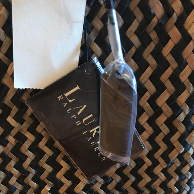 Ralph Lauren(ラルフローレン)の新品 タグ付き ラルフローレン 籠バッグ レディースのバッグ(かごバッグ/ストローバッグ)の商品写真
