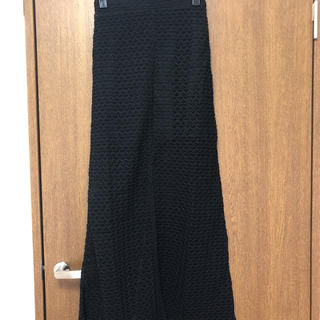 ロザリームーン(Rosary moon)の新品ロザリームーン 透け感スリットタイトスカート(ロングスカート)