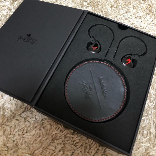 iriver(アイリバー)のAstell & Kern JH Audio Michelle スマホ/家電/カメラのオーディオ機器(ヘッドフォン/イヤフォン)の商品写真