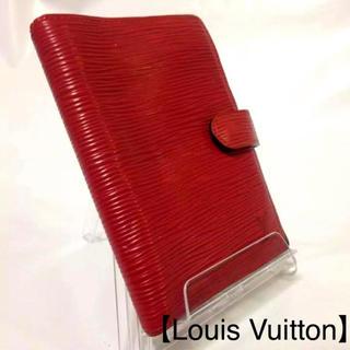 ルイヴィトン(LOUIS VUITTON)の38 ヴィトン エピ レッド アジェンダPM  【Louis Vuitton】(手帳)