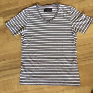 ダブルジェーケー(wjk)のreoma様専用 wjk メンズボーダーTシャツ(Tシャツ/カットソー(半袖/袖なし))