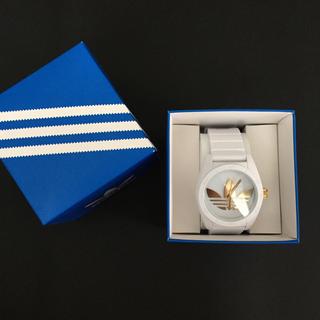 アディダス(adidas)の【adidas/アディダス】サンティアゴ ADH2917ラバーベルトメンズ 箱有(腕時計(アナログ))