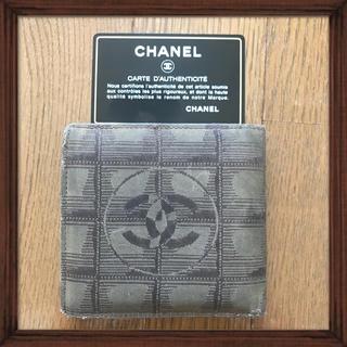 シャネル(CHANEL)のシャネル 二つ折り財布 (財布)