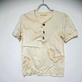 ダックアンドカバー(DUCK AND COVER)のダックアンドカバー 色落ち加工ヘンリーネックTシャツ S(Tシャツ/カットソー(半袖/袖なし))
