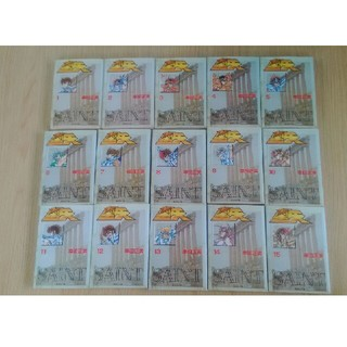 シュウエイシャ(集英社)の聖闘士星矢 文庫版 コミック 全15巻 完結版(全巻セット)