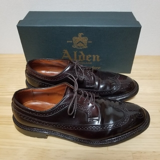 オールデン(Alden)の希少 美品 Alden オールデン コードバン 975C US11 29cm(ブーツ)