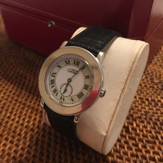 カルティエ(Cartier)の【週末お値引き】CARTIER  マストⅡ(腕時計(アナログ))