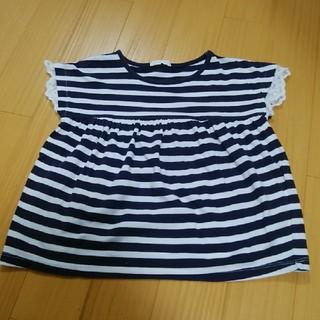 ジーユー(GU)のgu ボーダーカットソー 110(Tシャツ/カットソー)