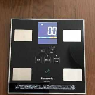パナソニック(Panasonic)の【ほぼ傷なし】Panasonic 体組成バランス計<EW-FA43>(体重計/体脂肪計)