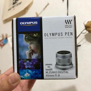 オリンパス(OLYMPUS)のOLYMPUSPEN 単焦点レンズ 45ミリ(レンズ(単焦点))