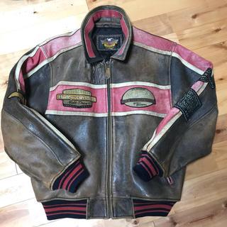 ハーレーダビッドソン(Harley Davidson)のHarley-Davidson/leather jacket  レザージャケット(レザージャケット)