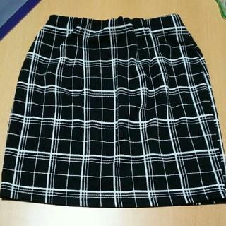 ヴイジーピンクミックス(VG / PinkMix)の【2点目以降半額】pinkMix チェック スカート(ミニスカート)