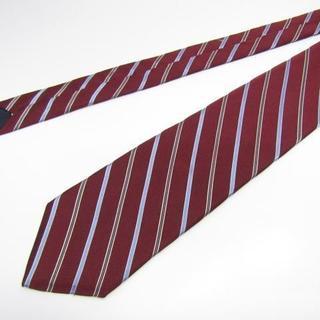 ブルックスブラザース(Brooks Brothers)の良品 ブルックスブラザーズ ネクタイ 濃赤系 ストライプ USED(ネクタイ)