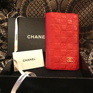 シャネル(CHANEL)のきよこちん様専用 美品♡シャネル アイコン 長財布 小銭入れ付(財布)