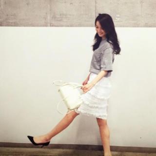 カオン(Kaon)のkaon♡フリンジスカート(ひざ丈スカート)