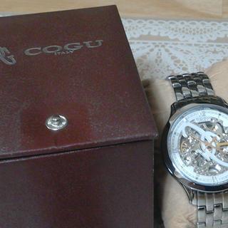 コグ(COGU)の腕時計 COGU シルバー(腕時計(アナログ))