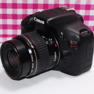 キヤノン(Canon)の⭐最高の一瞬を⭐Canon Kiss X4 レンズキット・付属品多数・元箱付き♪(デジタル一眼)
