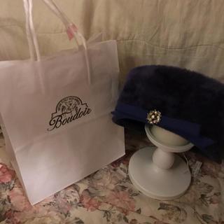 ロキエ(Lochie)のboudoir vintage hat (ハンチング/ベレー帽)