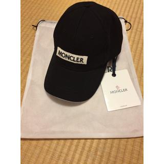 モンクレール(MONCLER)のモンクレール/ボックスロゴキャップ/帽子/新作/新品(キャップ)