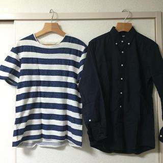 ユニクロ(UNIQLO)のユニクロ ZARA など メンズトップス 三点(Tシャツ/カットソー(七分/長袖))