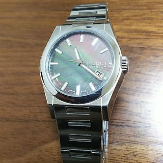 グッチ(Gucci)のグッチ時計  パンテオン  ブラックシェル(腕時計(アナログ))
