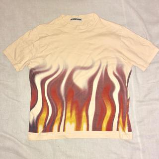 サボタージュ(sabotage)のSABOTAGE ファイヤーパターン Tシャツ 裏原 ストリート 炎(Tシャツ/カットソー(半袖/袖なし))