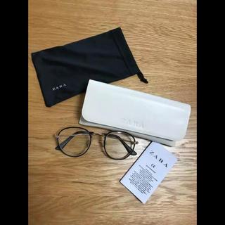 ザラ(ZARA)のZARA  ザラ 黒縁 細フレーム  メガネ 眼鏡(サングラス/メガネ)
