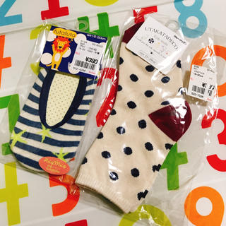 シマムラ(しまむら)のバースデイ 新品未使用 靴下 二足セット(靴下/タイツ)