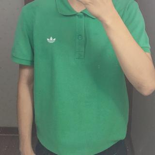 アディダス(adidas)の古着 adidas ポロシャツ緑(ポロシャツ)