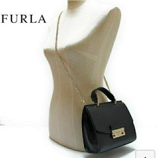 フルラ(Furla)のフルラジュリア FURLA Julia Mini shoulde BLACK(ショルダーバッグ)