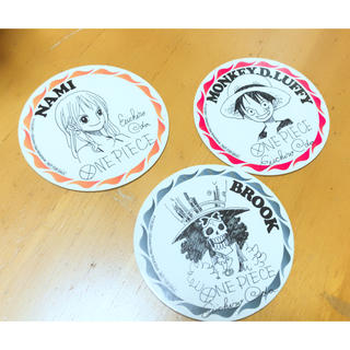 シュウエイシャ(集英社)のONEPIECE コースター(少年漫画)