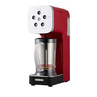 ドウシシャ(ドウシシャ)のドウシシャ コーヒーメーカー クワトロチョイス ミキサー レッド QCR-85A(調理機器)