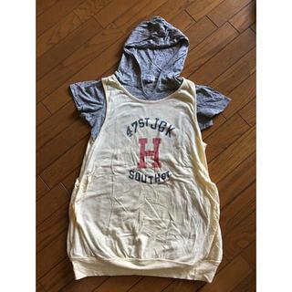エーズラビット(Asrabbit)のエーズラビット Tシャツ ノースリーブ 半袖 セット(Tシャツ(半袖/袖なし))