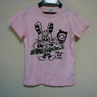エンジェルブルー(angelblue)のピンク色Tシャツ(Tシャツ/カットソー)