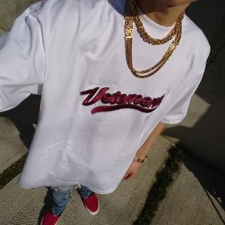 VETEMENTS ヴェトモン(Tシャツ/カットソー(半袖/袖なし))