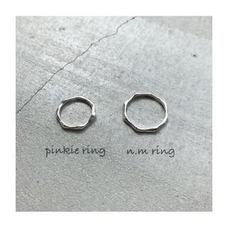 ☆CARA☆ ...pinkie n.m ring 4号 シルバーリング(リング(指輪))