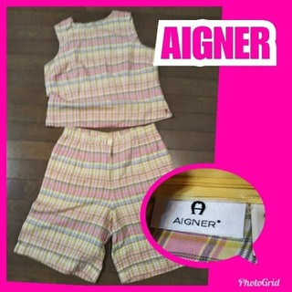 アイグナー(AIGNER)のアイグナーセットアップ 大きめ(ハーフパンツ)