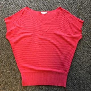 アーモワールカプリス(armoire caprice)のアーモワールカプリス ピンクカットソー (カットソー(半袖/袖なし))