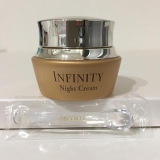 インフィニティ(Infinity)のインフィニティ ナイト クリーム  スパチュラ オマケ付き(フェイスクリーム)
